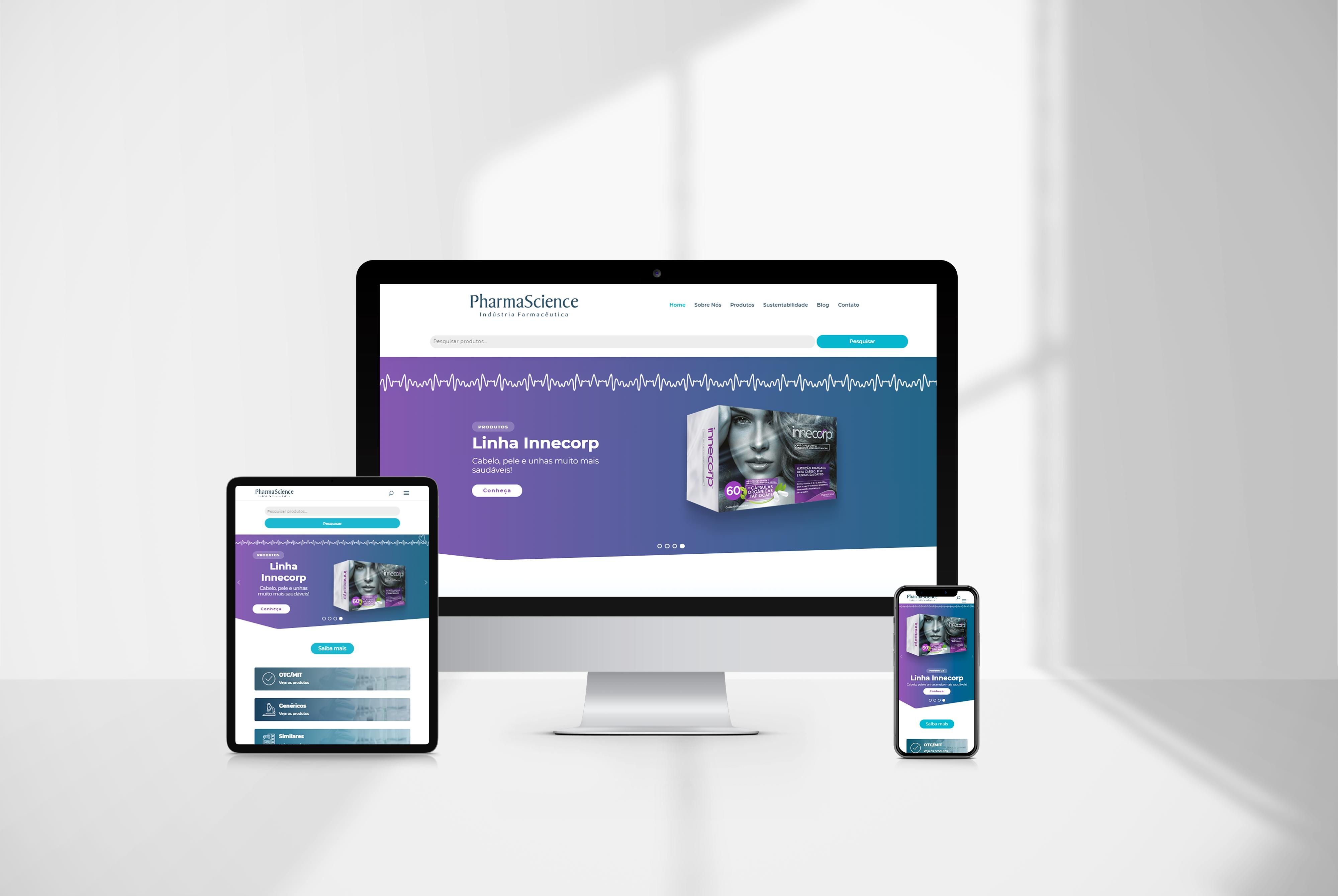 criacao de site Pharma agencia de marketing digital casanova digital