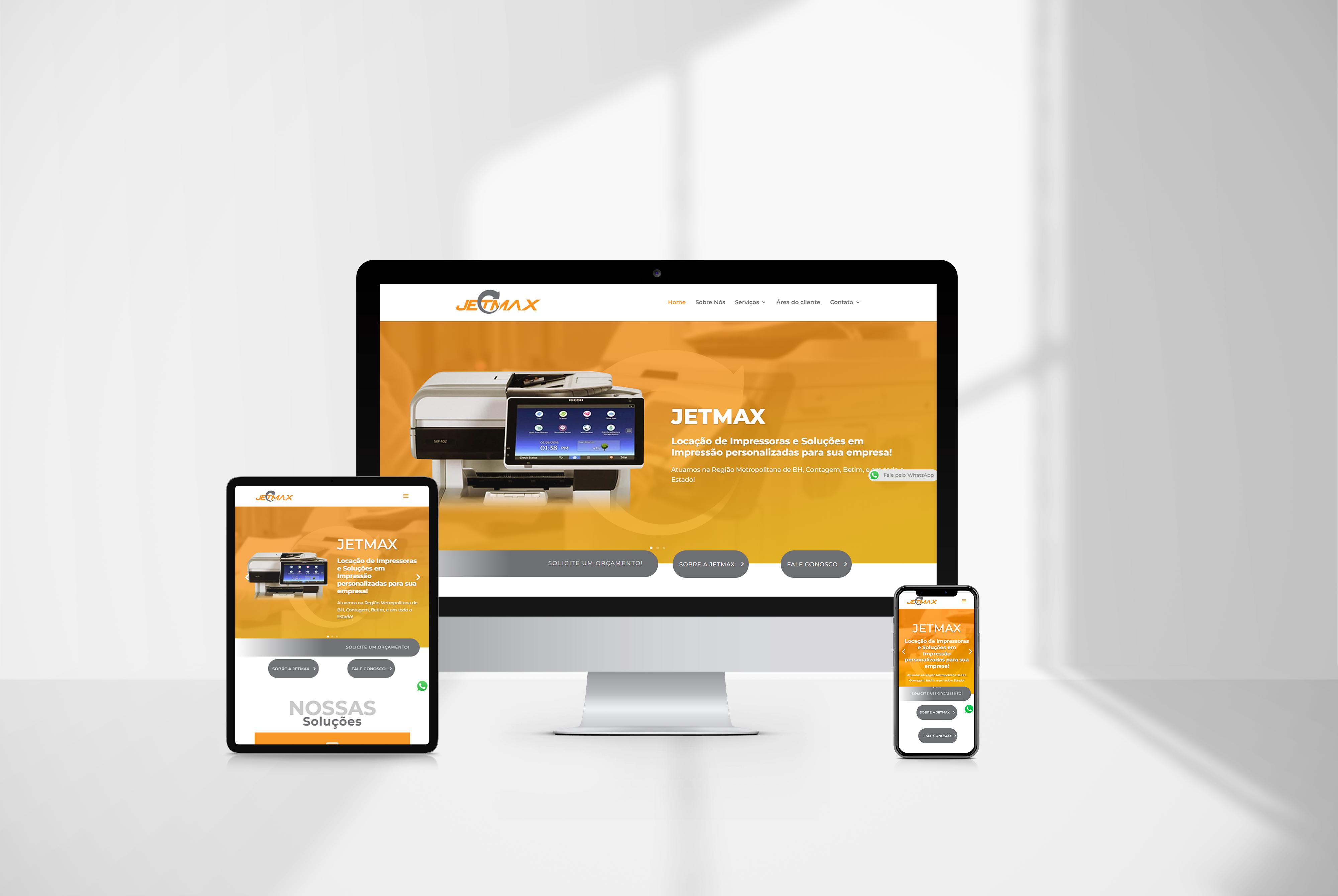 criacao de site Jetmax agencia de marketing digital casanova digital